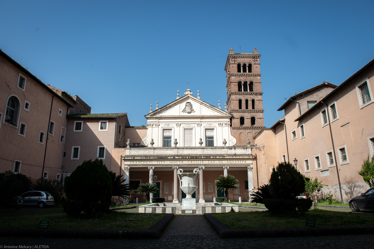 Virtually visit the Basilica of St. Cecilia in Trastevere, built over the martyr's home