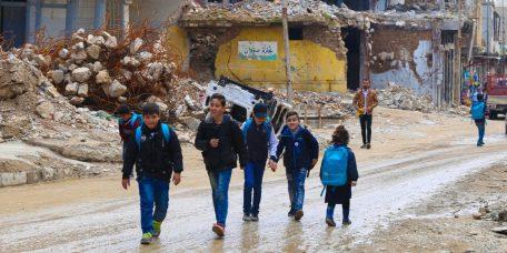 CHILDREN, IRAQ, WAR