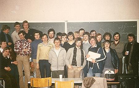 et laatste jaar Industrieel Ingenieur Electronica (1981)