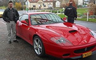 Jawel met deze Ferrari heb ik zelf mogen rijden/racen. Niet te doen jong !! (Luxemburg 2003)