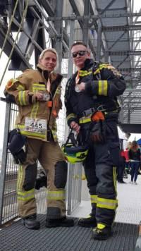 Plettenberger Feuerwehrmann bei Stair-Run in Berlin