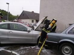 Fahrzeugbrand in Rüdesheim