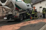 aufgerissener Dieseltank in Bockenau