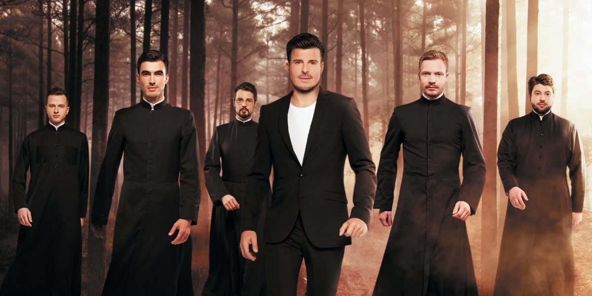 Après The Voice, les prêtres orthodoxes sortent un album inattendu