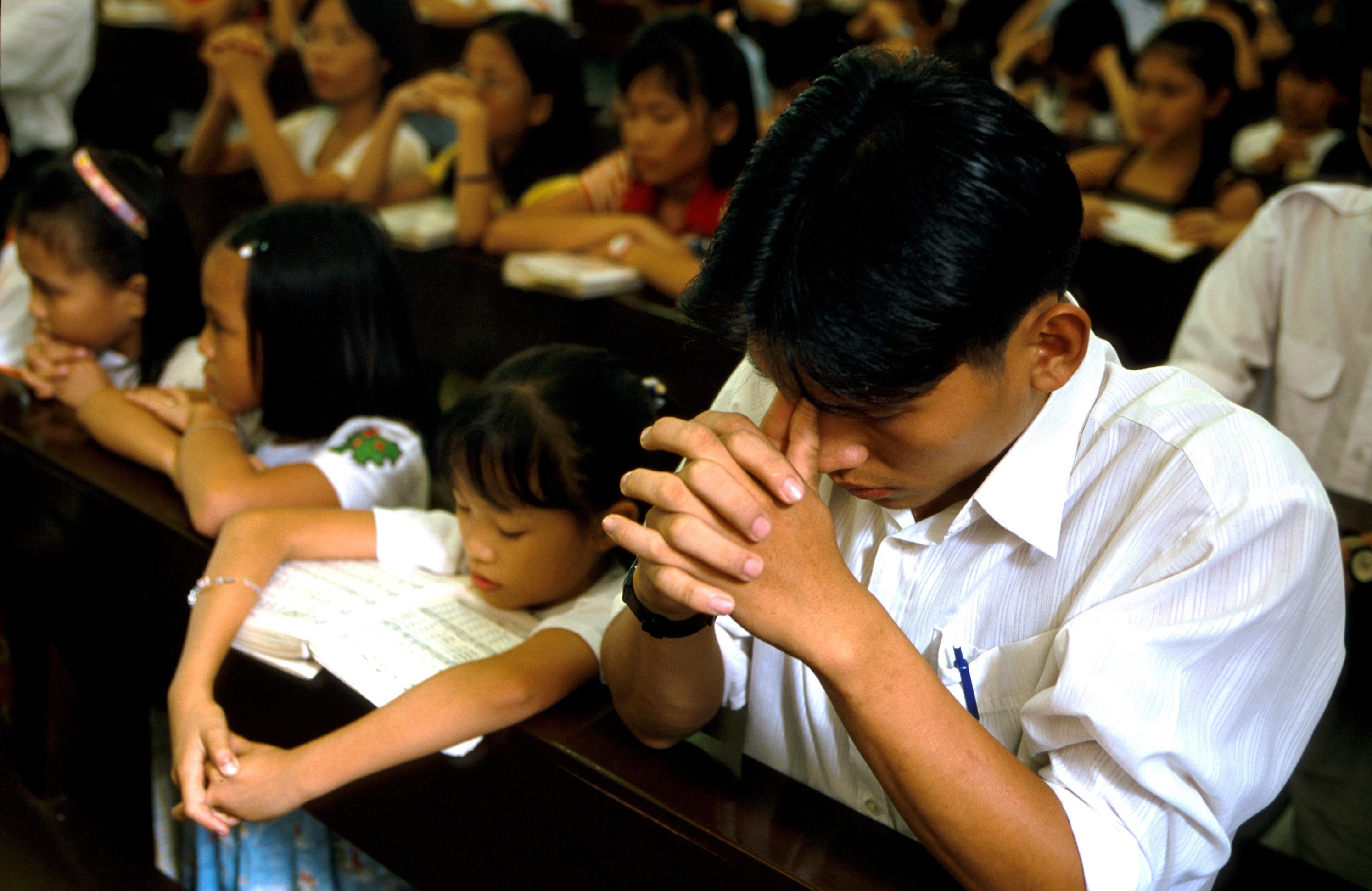 Vietnam : ils rêvaient d'une église depuis sept ans, elle est aujourd'hui réalité