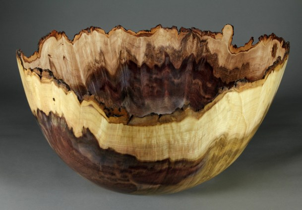 "Jones Tulip Poplar Burl 21 1/2"" dia. x 11"" tall"