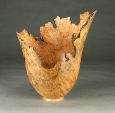 Big Leaf Maple Vase