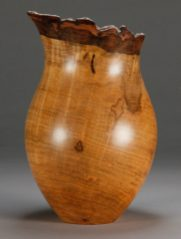 "SV 11.... Silver Maple.... 5 1/2"" dia. x 8 1/2"" tall$140"
