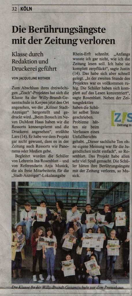 Quelle: Kölner Stadtanzeiger vom 21./22. Mai 2016