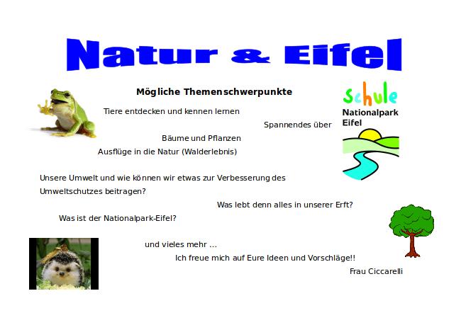 Natur und Eifel