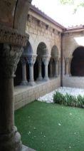 Un patio en el Pueblo Español