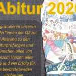 Abitur 2020, Gratulation