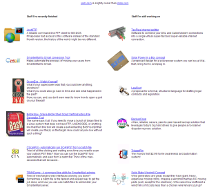 old josh.com website