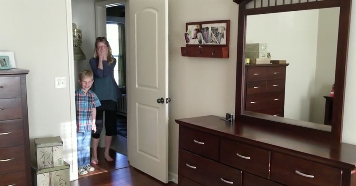 Husband Surprises Wife With A Complete Bedroom Makeover