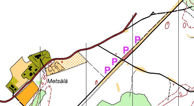 Parkkeeraus Kerolankankaan kuntorasteilla lähellä Siprintietä.