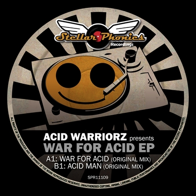 label artwork - Acid Warriors