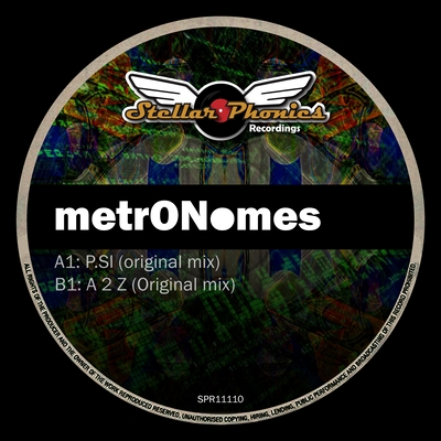 label artwork - metronomes - stellar