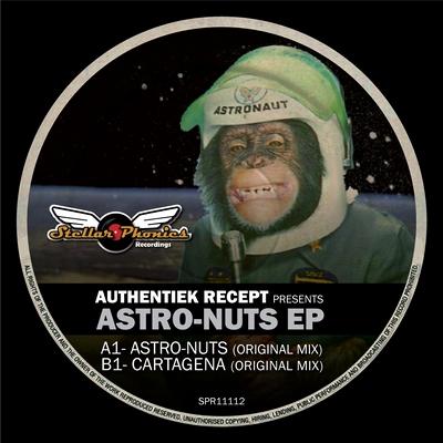 label artwork - Astro-Nuts