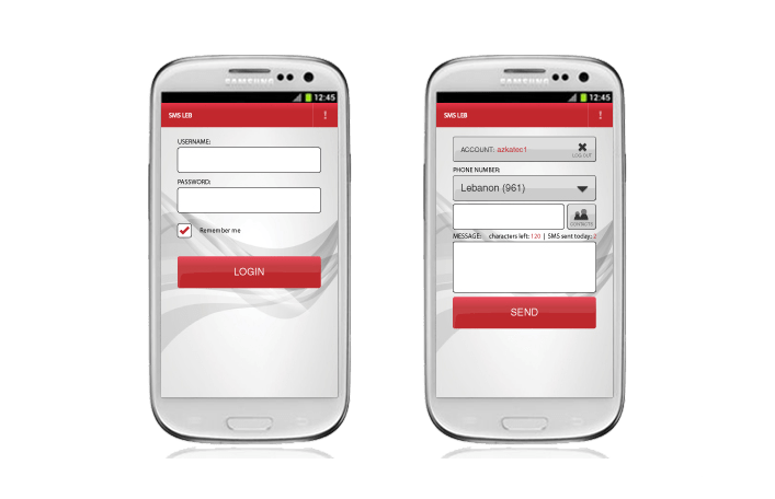 app - sms leb