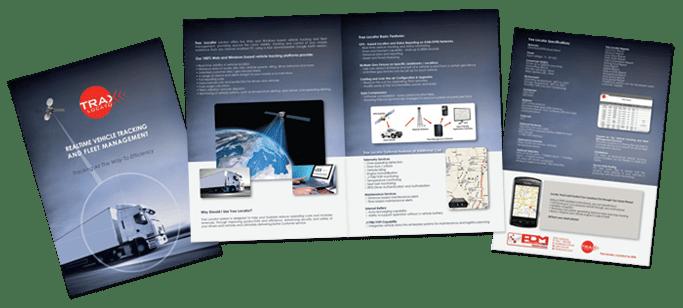 print - brochure trax