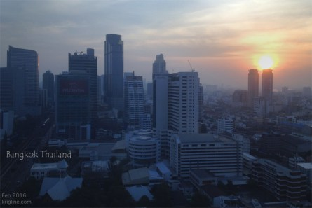 For us, the annual conference started with a night in Bangkok, where we enjoyed a Swenson's ice cream Sunday and were greeted by this sunrise.