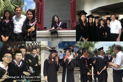 A few more photos, taken immediately after graduation.