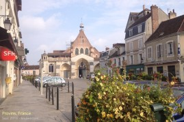 Beautiful Provins, France