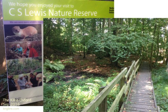 "CS Lewis owned 4 acres of land around ""The Kilns,"" including a small lake. It is now a Nature Reserve."