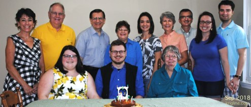 A day before Philip (far right) married Bethany, we enjoyed a family celebration welcoming Laura and Bethany into our family. These gatherings are rare since we came to VA from SC, PA, GA, TX, MD, and Hong Kong!