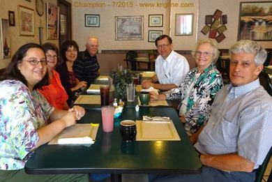 With friends near Warren OH