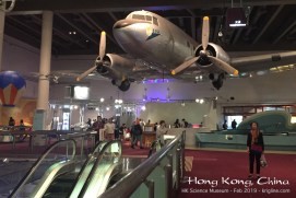 This was the first plane in the Cathay Pacific Airlines fleet, purchased as war surplus after WW2. The fleet was upgraded many times, but someone spotted this piece of history in Australia over 30 years later, still flying! Cathay bought it back, and donated it to the HK Science Museum.
