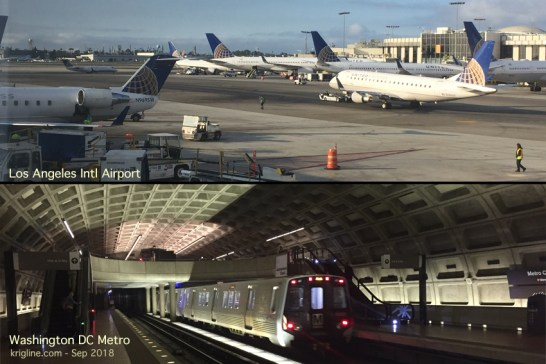 planes and trains