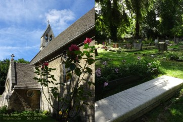 Near the Kilns was Holy Trinity church, where Lewis was active, and where he was buried.