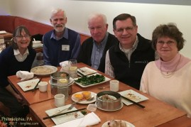We also attended a mini-conference in Philadelphia, and got the chance to meet with several Board members of a US charity that partners with us.