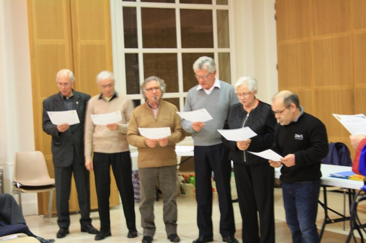 Intronisation de six membres de LGY.
