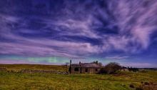 Aurora captured near Wooler, Northumerbalnd by Tony Robson.