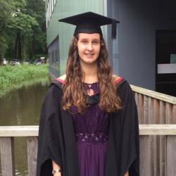 Lancaster Environment Centre Graduate Chelsea Mallinson