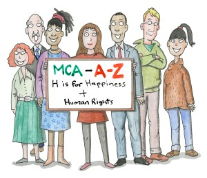H is for happiness and human rights