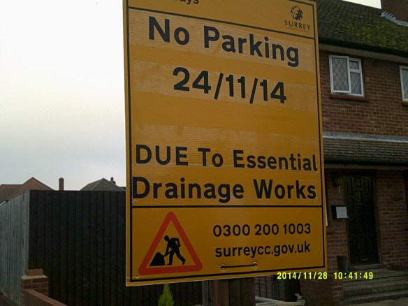 Essential drainage works