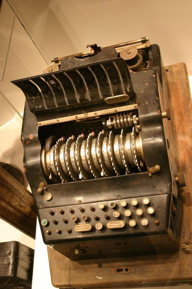 Enigma Triton M4 with eight rotors