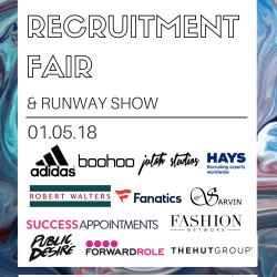 Fashion Recruitment Fair Poster