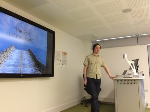 Dr Demot Lynott presenting at the 4th Data Conversations