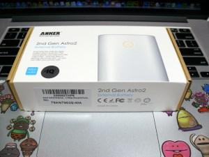 ANKER Astro2 パッケージ