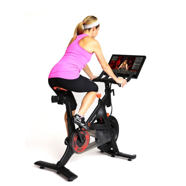 Peloton Cycle / The Only Indoor Bicycle with Live Streaming Classes