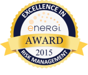 2015 Excellence in Risk Management Award Seal