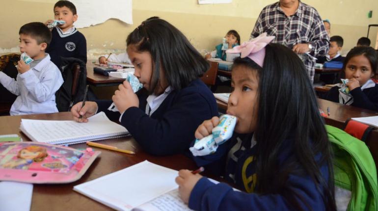 Padres y directores denuncian que dieron fruta en mal estado a escolares