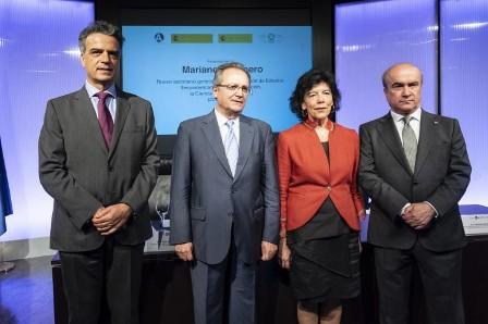 Presentación de Mariano Jabonero como nuevo secretario general de la OEI