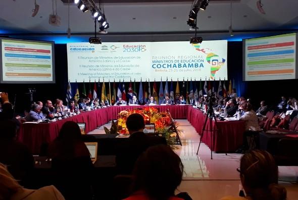 CLADE defiende el derecho a la educación pública, inclusiva y a lo largo de la vida en Reunión Regional de Ministras/os de Educación