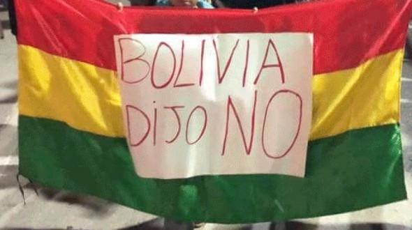 """Reportan que estudiante de """"Bolivia dijo No"""" sigue recibiendo amenazas"""