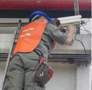 Progresiva instalación de cámaras de seguridad